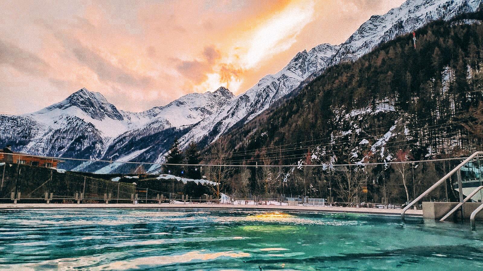 spa in the austrian alps